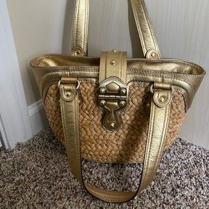 Michael Kors Straw handbag